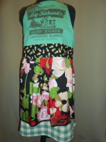 big kahuna silk print skirt