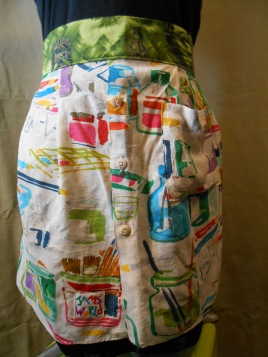 jams world half apron
