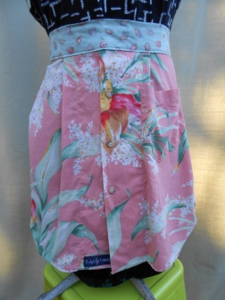 ralph lauren tropical half apron
